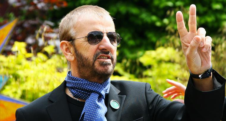 Ringo Starr - Beatles - Batterista piu ricco del mondo